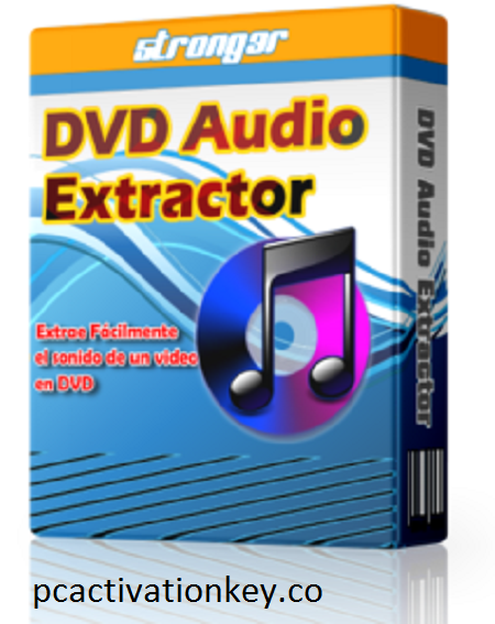 DVD Audio Extractor With Crack