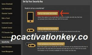 Swtor Security Key Activation Key